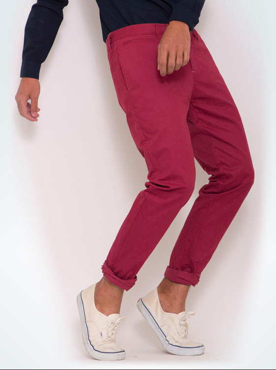 erawon_super_skinny_chino_stretch_Dark_maroon